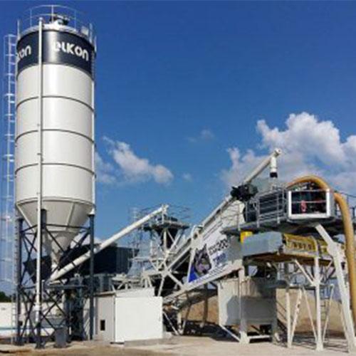 Смесителни инсталации за производство на циментова стабилизация