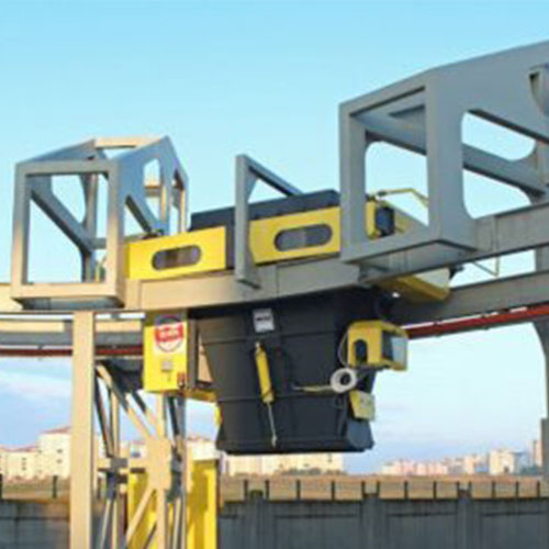 Бетонови възли за производство на бетон за напрегнати конструкции и транспортни системи